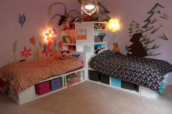 21 Smart and Creative Girl and Boy Shared Bedroom Design Ideas  usefuldiyprojects.com design ideas (11)