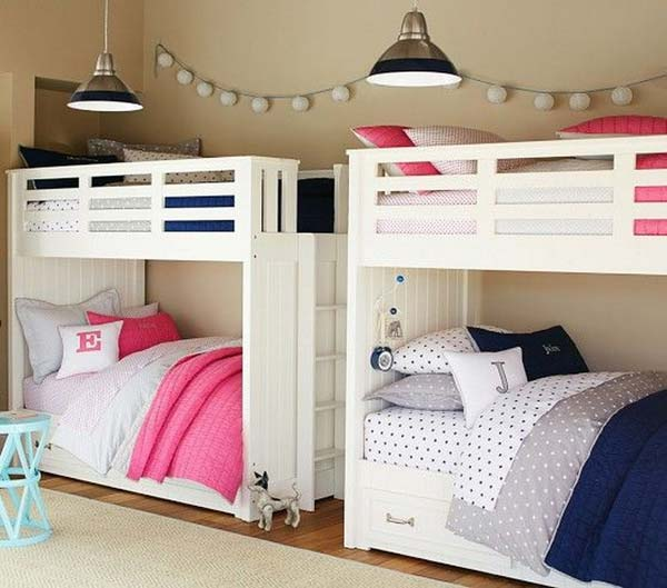 21 Smart and Creative Girl and Boy Shared Bedroom Design Ideas  usefuldiyprojects.com design ideas (16)