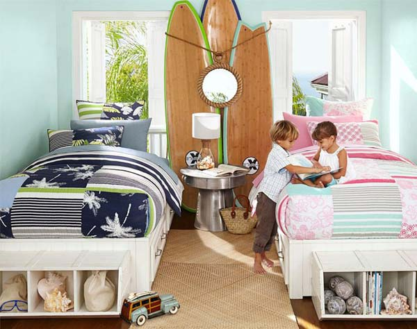 21 Smart and Creative Girl and Boy Shared Bedroom Design Ideas  usefuldiyprojects.com design ideas (8)