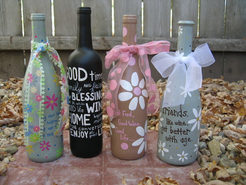23 fascinating ways to reuse glass bottles into diy for Diy bottle projects