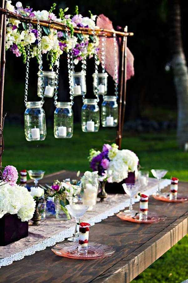 27 Magnificent and Splendid Hanging Mason Jars DIY Projects Beautifying The World usefuldiyprojects.com decor ideas (1)