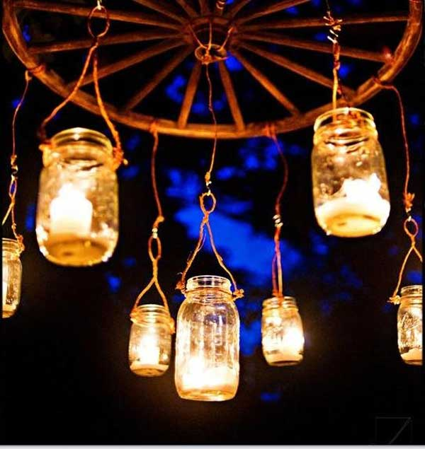 27 Magnificent and Splendid Hanging Mason Jars DIY Projects Beautifying The World usefuldiyprojects.com decor ideas (15)