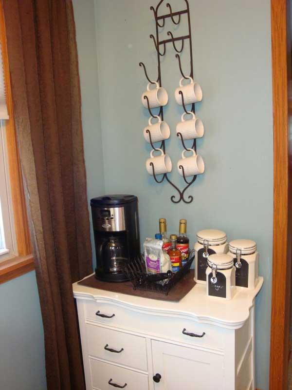 Diy Coffee Mug Holder Hooks