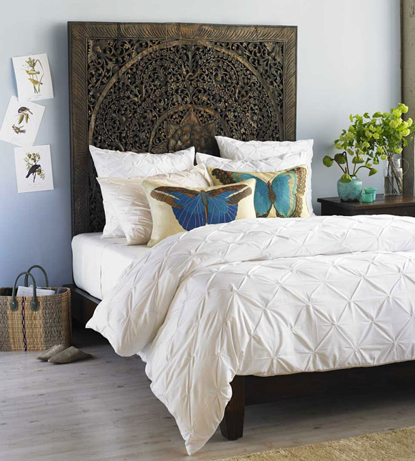 30 Smart and Creative DIY Headboard Projects To Start Right Away usefuldiyprojects.com decor (24)