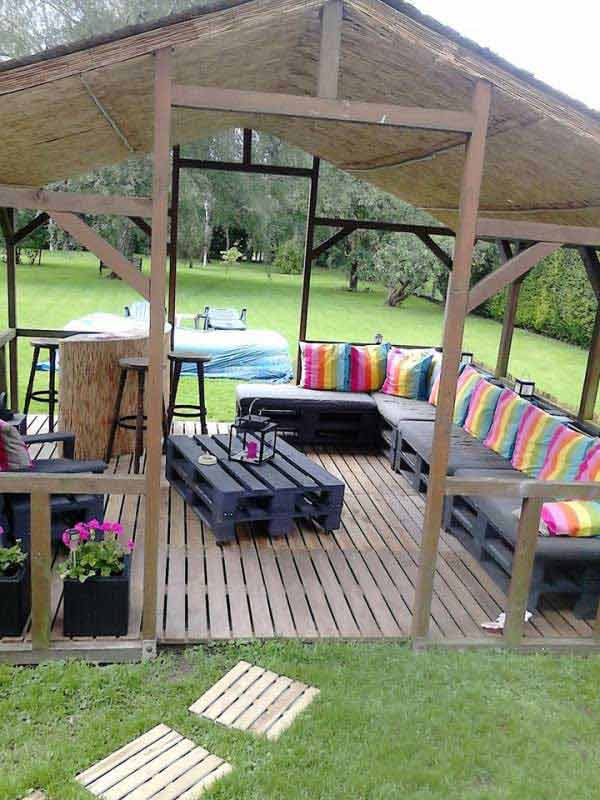 31 Ingeniously Cool Ideas to Upgrade Your Patio This Season usefuldiyprojects.com decor ideas (31)