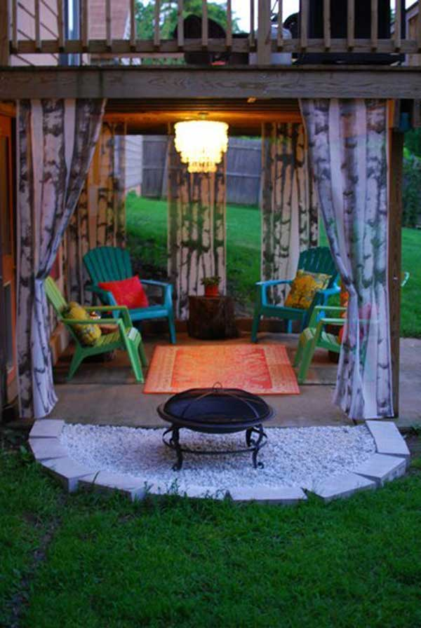 31 Ingeniously Cool Ideas to Upgrade Your Patio This Season usefuldiyprojects.com decor ideas (4)