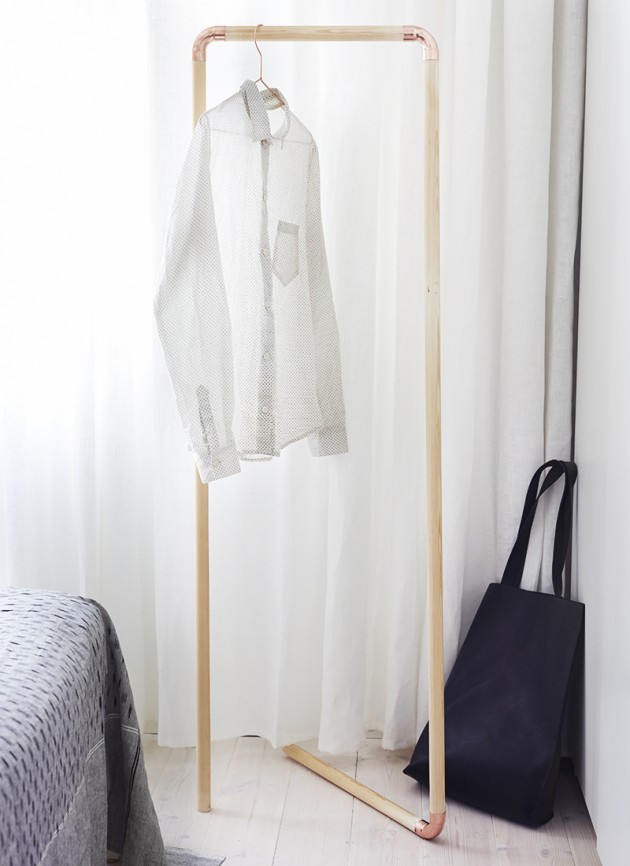 Diy clothing storage solutions for small spaces - Clothes storage for small spaces model ...