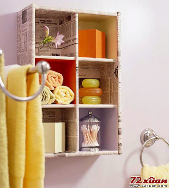Bathroom Storage  DIY PROJECTS usefuldiyprojects.com (20)