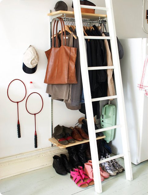 DIY Clothing Storage Solutions For Small Spaces-usefuldiyprojects (29)