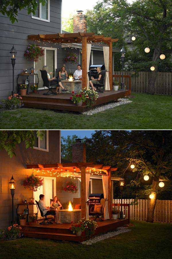 25 Beautifully Inspiring DIY Backyard Pergola Designs For Outdoor Enterntaining usefuldiyproject pergola design (16)