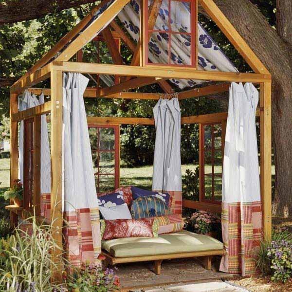 25 Beautifully Inspiring DIY Backyard Pergola Designs For Outdoor  Enterntaining Usefuldiyproject Pergola Design (8)