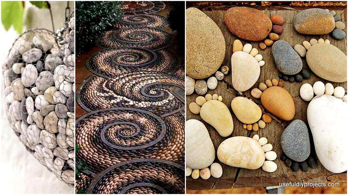 26 DIY Rock Garden Decorating Ideas of Immense Beauty on Rock Decorating Ideas  id=14902