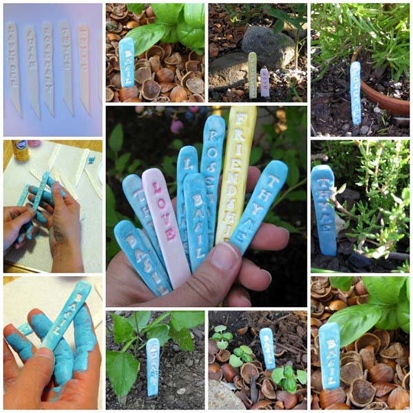19 Brilliant No-Money Ideas to Label The Plants in Your Garden (14)