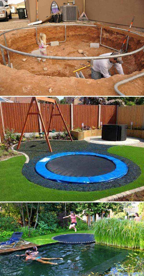 Cool Ways To Transform Your Backyard Into A Cool And Fun Kids Playground (6)