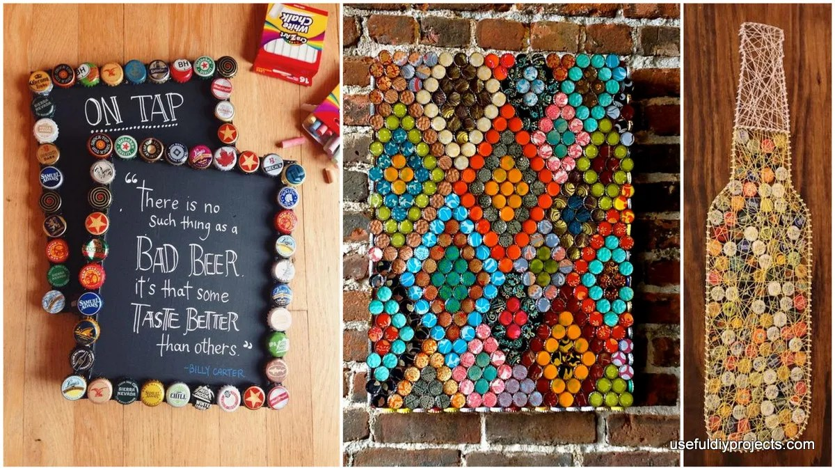 beer cap craft ideas 15 bottle cap ideas you can make for your home 3434