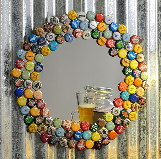 Bottle Cap Decoration Enchanting 15 Bottle Cap Art Ideas You Can Make For Your Home Design Ideas