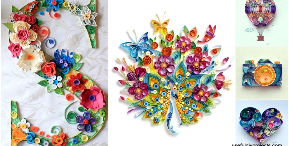 World S Best 18 Quilled Paper Art Design Ideas To Materialize