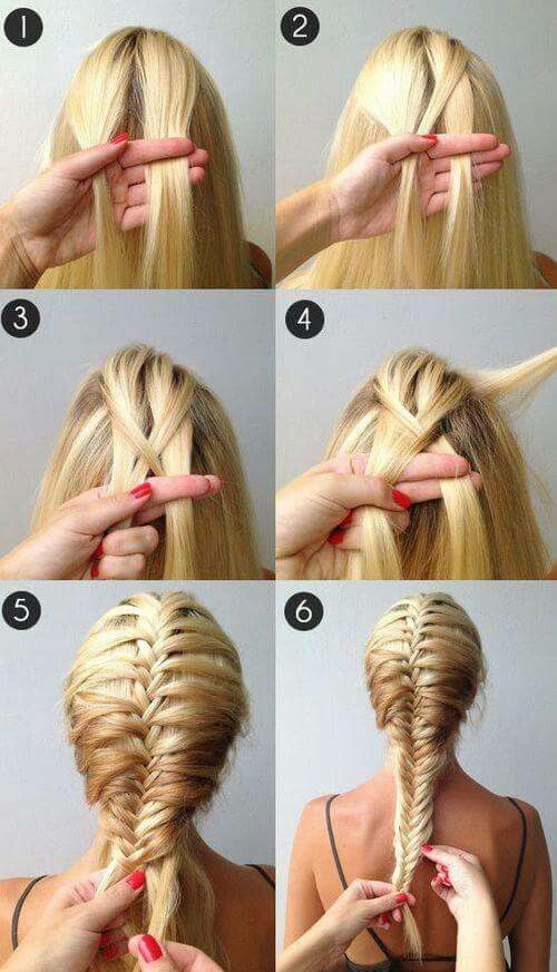 Cute Braid Hairstyles Inspiration Try This Take On The Topknot Trend A Frenchbraided Bun