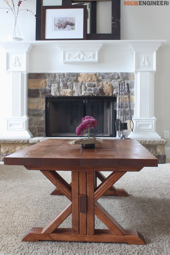 World`s Best 15 Best Coffee Table Plans You Can Realize ... on Coffee Table Plans  id=42319