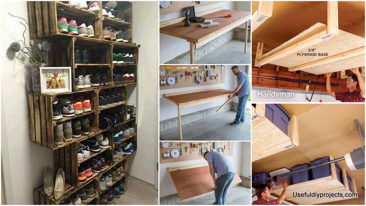 Exceptional Organize Your Items With These 17 Garage Storage Ideas