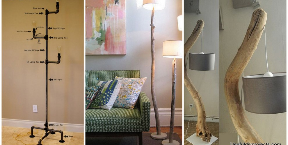 Stunning 15 diy floor lamps to complete a room useful diy projects stunning 15 diy floor lamps to complete a room mozeypictures Image collections