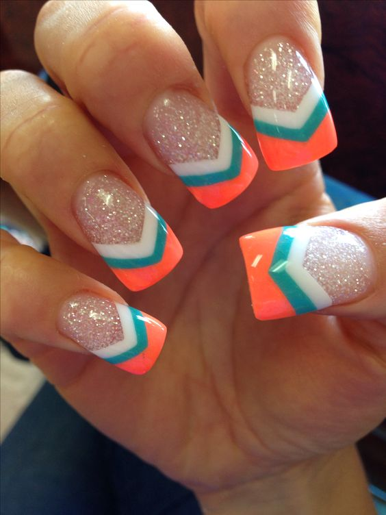37 Acrylic Nail Art Designs You\'ll Want To Try For Upcoming Parties ...