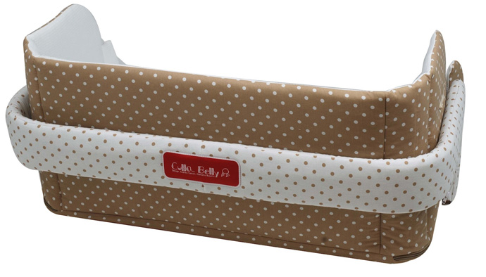 The right alternative to the classical crib - The CULLA BELLY CO-SLEEPER
