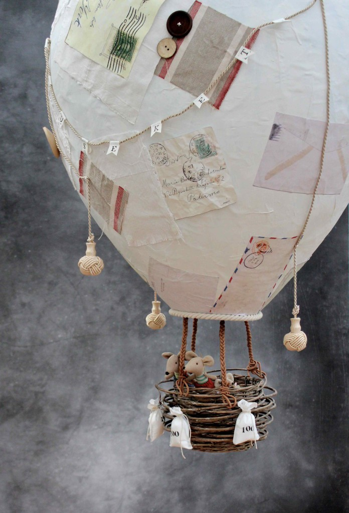11 A Baby Mobile In The Shape Of Fairytale Hot Air Balloon