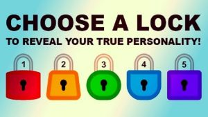 Open A Lock And Learn Some Interesting Facts About Your Personality!