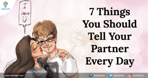 7 Things You Should Tell Your Partner Every Day
