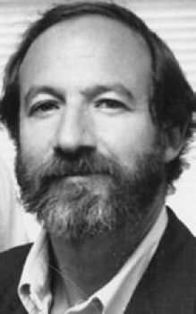1990 PHOTO OF MICHAEL MEEROPOL, SON OF JULIUS AND ETHEL ROSENBERG AT THE ROSENBERG FUND FOR CHILDREN IN SPRINGFIELD.