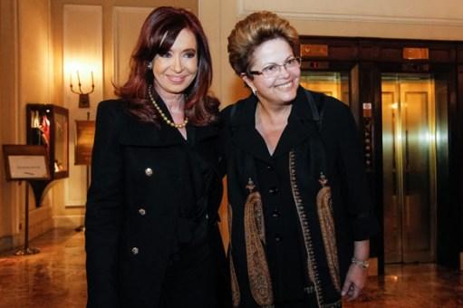 Roma - Itália, 19/03/2013. Presidenta Dilma Rousseff durante encontro com a Presidenta da Argentina, Cristina Kichner. Foto: Roberto Stuckert Filho/PR