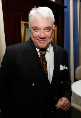 """NEW YORK, NY - OCTOBER 27: Rex Reed attends the """"Preston Bailey Flowers"""" book release party at the 21 Club on October 27, 2011 in New York City. (Photo by Mark Von Holden/Getty Images)"""