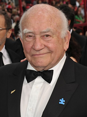 HOLLYWOOD - MARCH 07: Actor Ed Asner arrives at the 82nd Annual Academy Awards held at Kodak Theatre on March 7, 2010 in Hollywood, California. (Photo by John Shearer/Getty Images) *** Local Caption *** Ed Asner