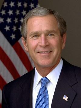 030114-O-0000D-001 President George W. Bush. Photo by Eric Draper, White House.