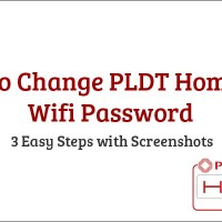 How to Change PLDT Home DSL Wifi Password 3 Steps