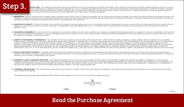 Step 3 Read the Purchase Agreement