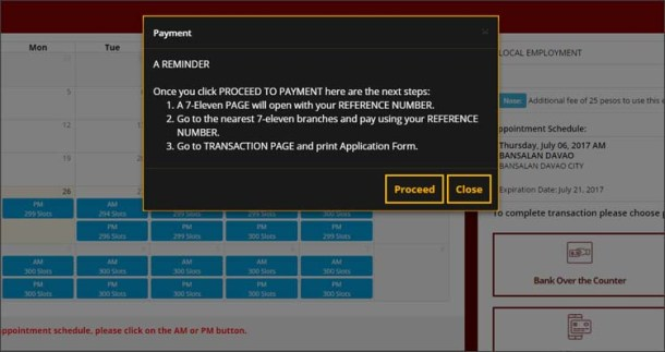 Step 7a Payment Reminder