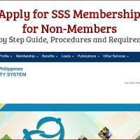 How to Apply for SSS Membership Online for Non Members