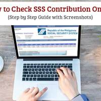 How to Check SSS Contribution Online