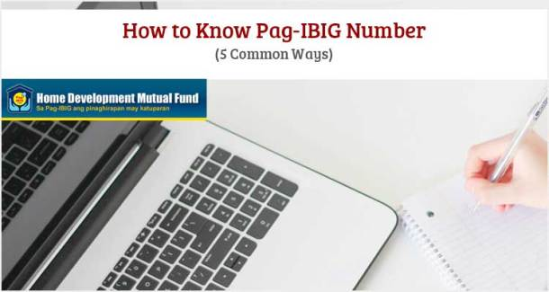 How to Know Pag-IBIG Number