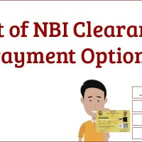 List of NBI Clearance Payment Options