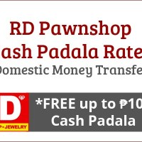 RD Pawnshop Rates