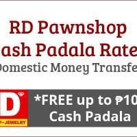 RD Pawnshop Rates