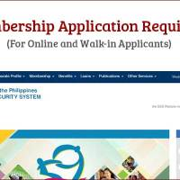 SSS Membership Application Requirements