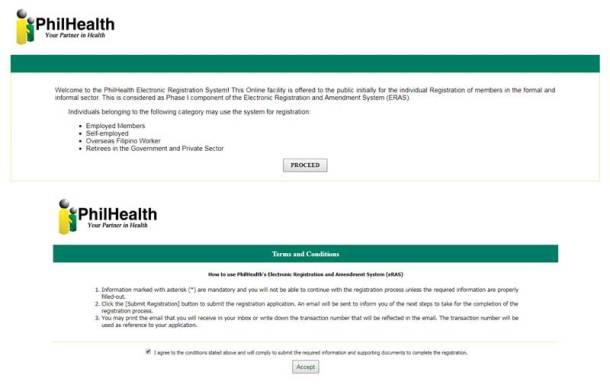 Step 2 Online Registration Basic Information