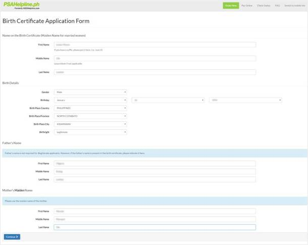 Step 4 Application Form