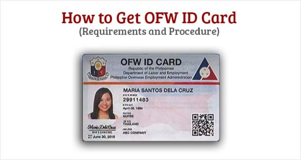 How to Get OFW ID Card