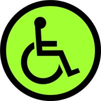 23. Wheelchair Crossing