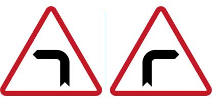 24. Sharp Turn to the Left - Right